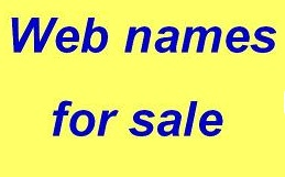 Web names for sale
